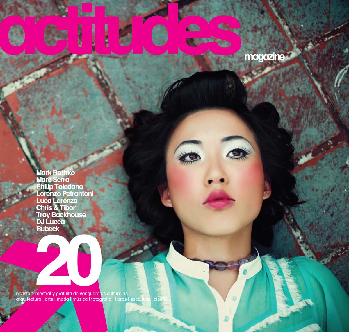 actitudes Spanish design magazine Troy Backhouse publication V20