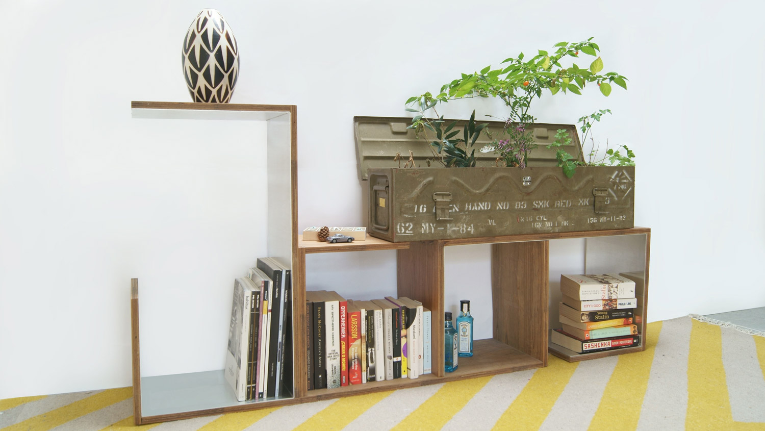 Go figure configurable shelving units
