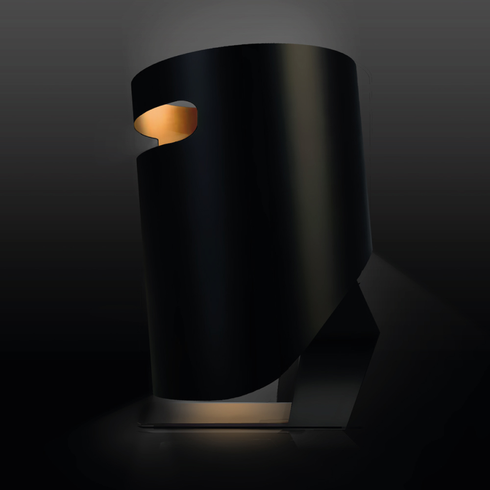 Ned Kelly desk lamp concept