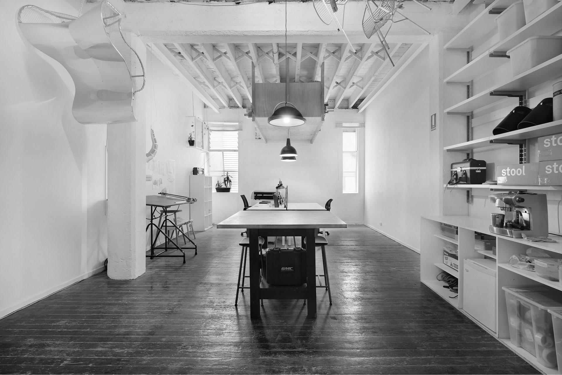 troy backhouse studio interior Fitzroy