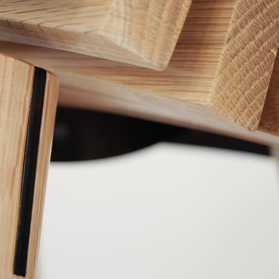 Ane stool detail
