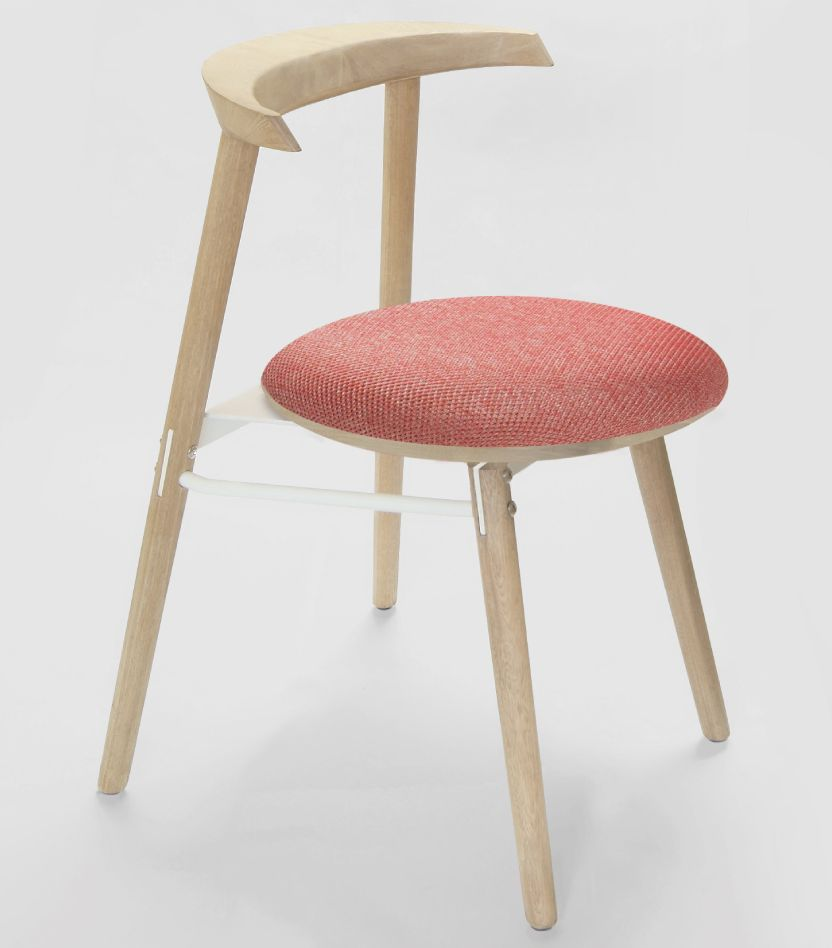 Islero dining chair natural timber