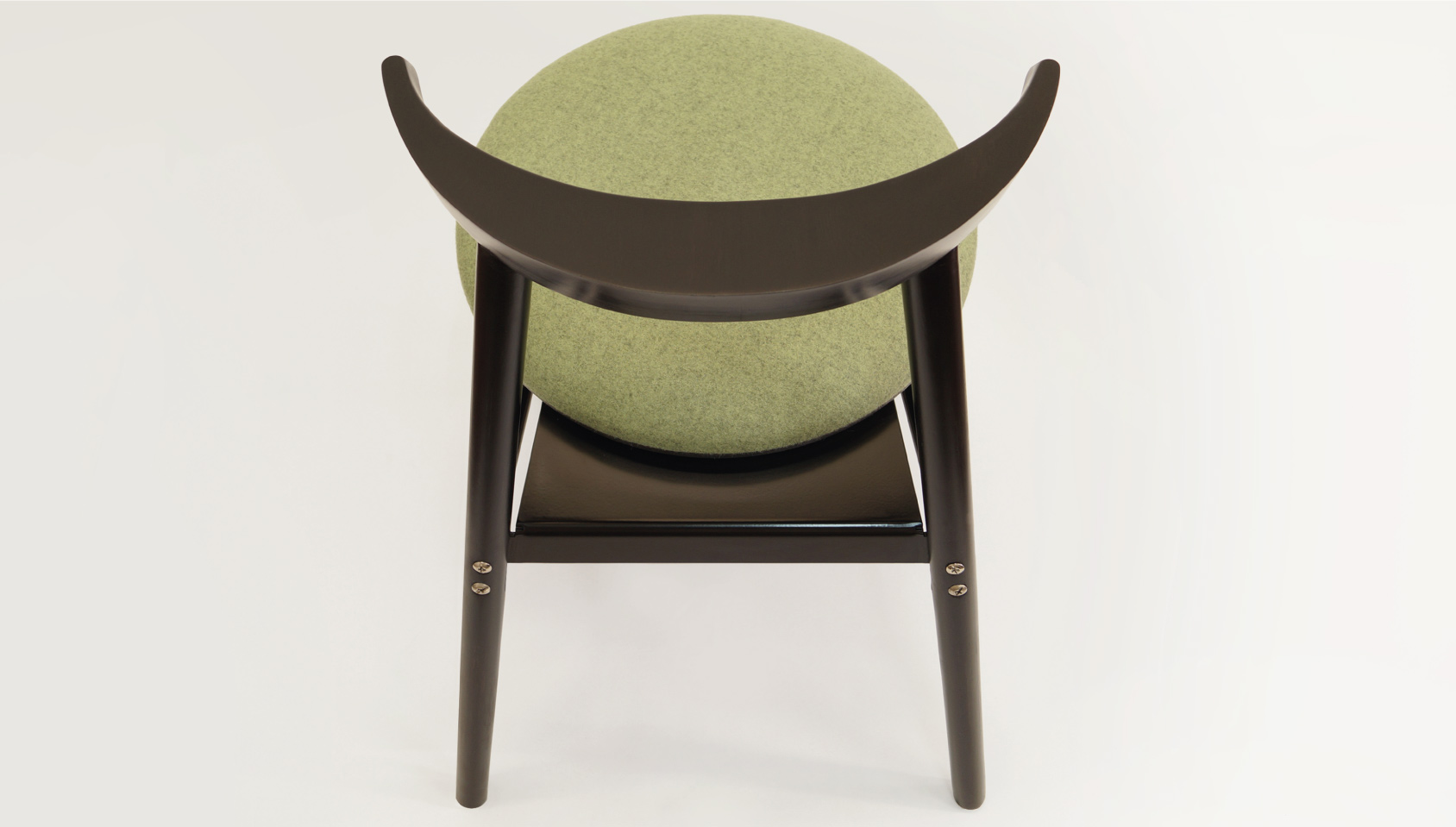 Islero dining chair top view
